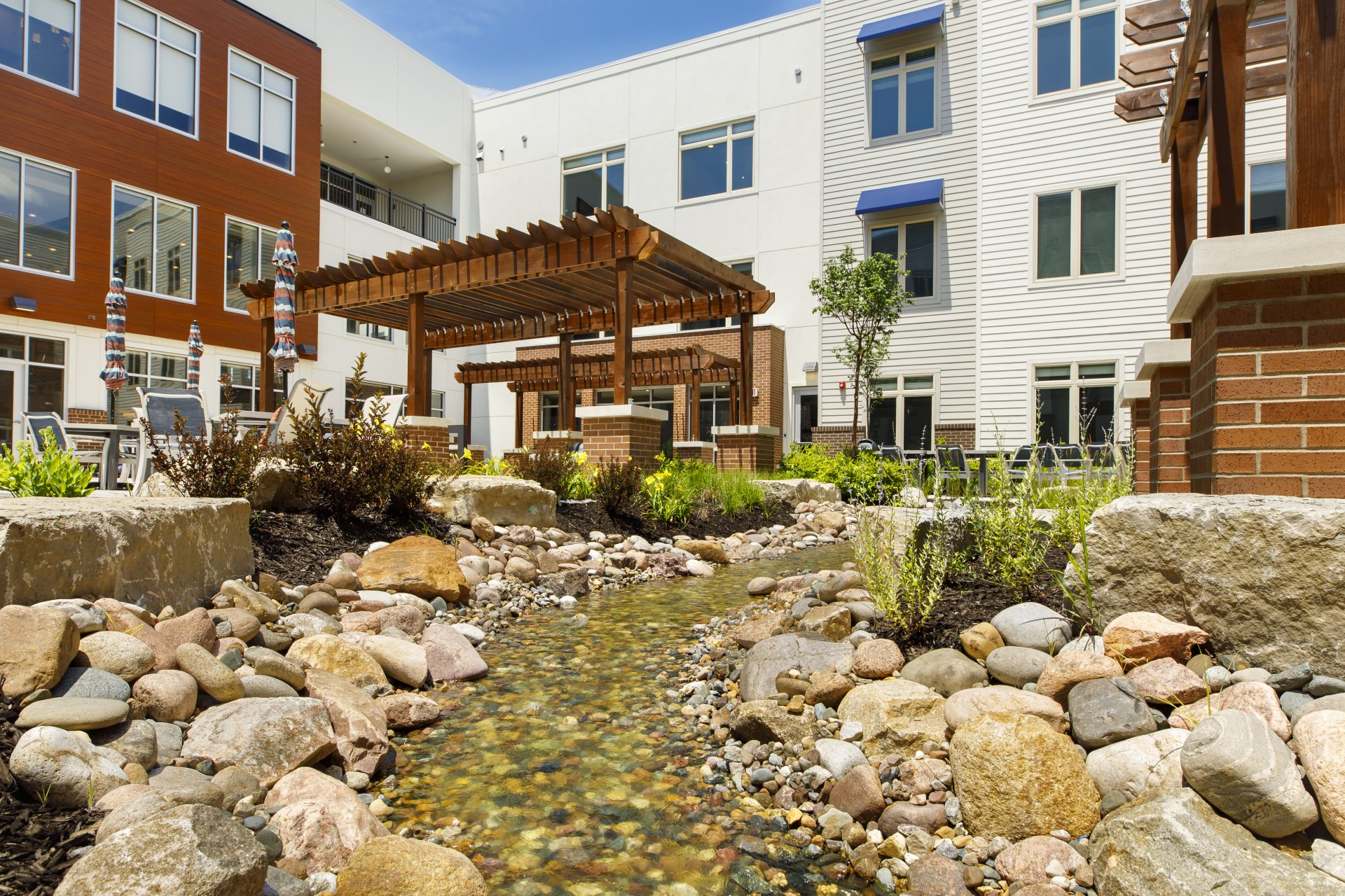 Courtyard Stream